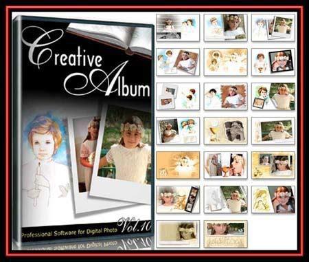 Creative Album Templates, Wedding 12 Series FULL! » GFxtra