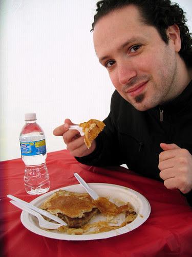 pancake breakfast at the maple farm
