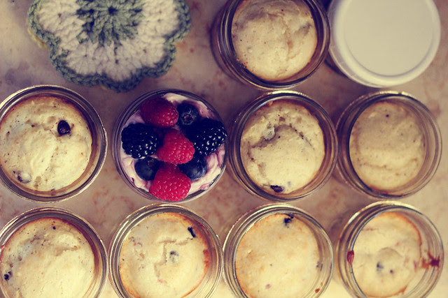Mini Breakfast Jars