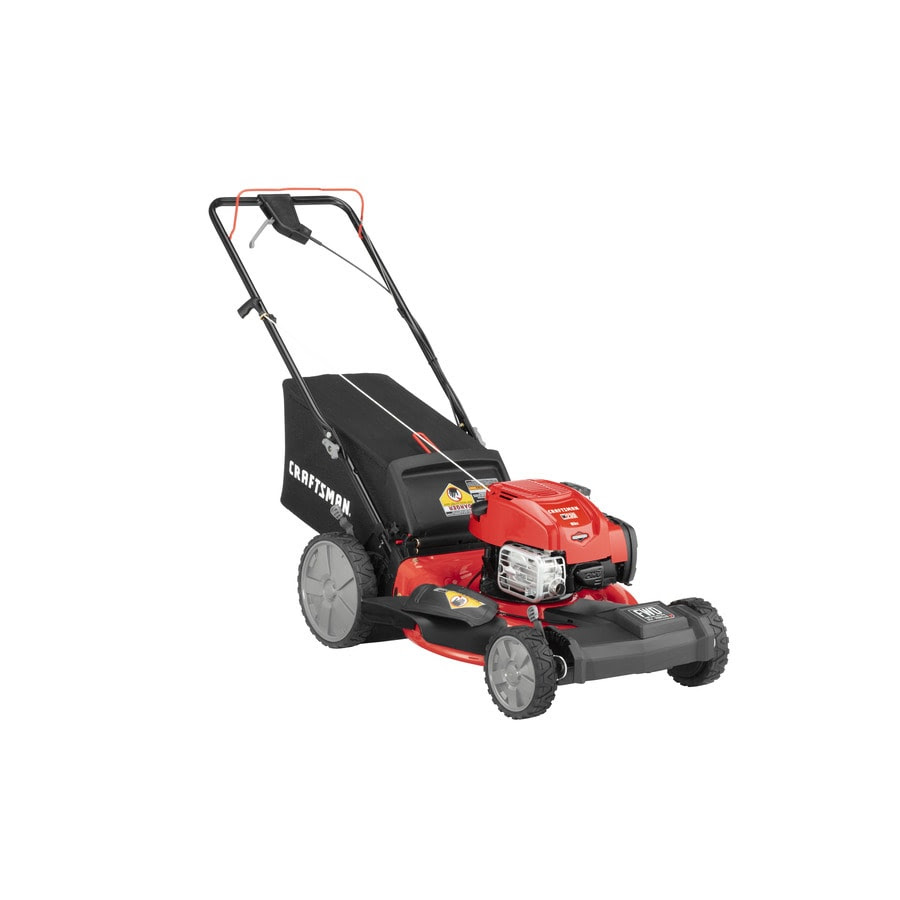 Craftsman M230 163 Cc 21 In Self Propelled Gas Push Lawn Mower With Briggs Stratton Engine In The Gas Push Lawn Mowers Department At Lowes Com