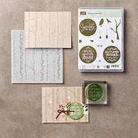 Among the Branches Photopolymer Bundle by Stampin' Up!