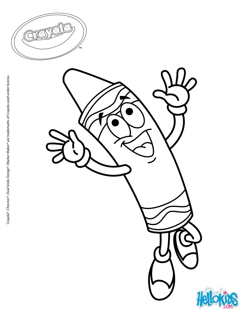 920 Top Crayola Coloring Pages School Images & Pictures In HD