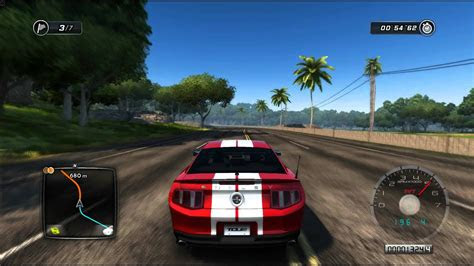 test drive unlimited  ford mustang shelby gt youtube