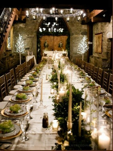 Castle mcculloch #wedding #table #castle #reception