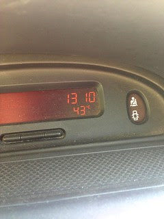 Pitarque: 43 ºC