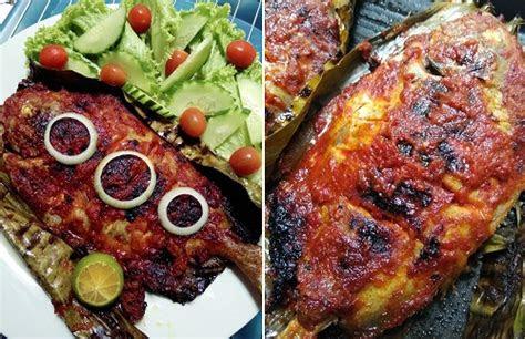 resepi ikan bawal bakar berempah resepi bonda