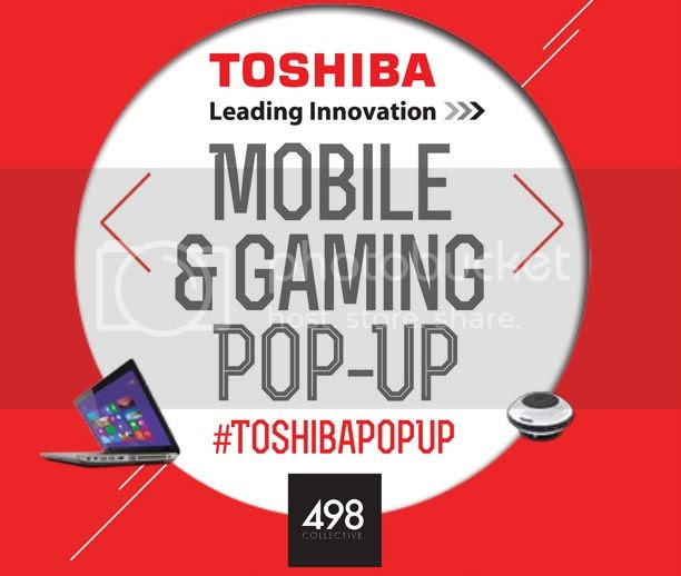 #ToshibaPopUp