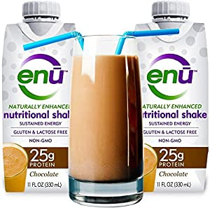 enu meal replacement protein shakes best tasting 25g ...