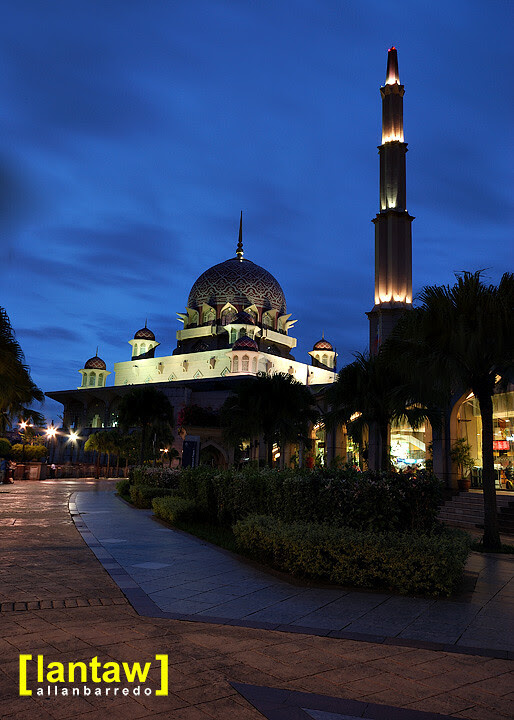 Putra Mosque at Dusk