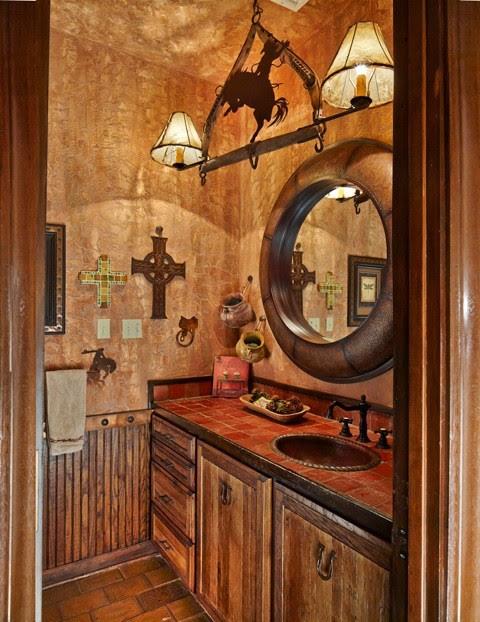 Ranch Guest bath - Rustic - Bathroom - Dallas - by USI ...