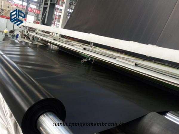 BPM Geomembrane HDPE liner production