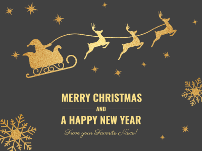 merry christmas and happy new year fotor photo cards - Christmas Card Online Maker Free