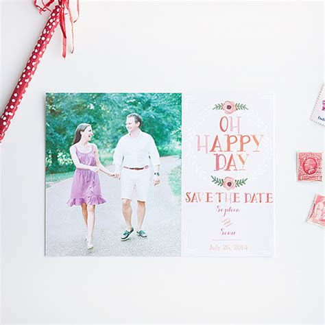 Blog   Free Photo Save The Date Cards