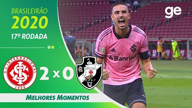 Assistir os  Melhores Momentos de Internacional 2 x 0 Vasco