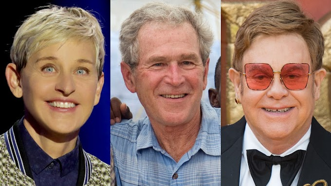 Lucky Offers Ads((Via-News)) Elton John defends Ellen DeGeneres, George W. Bush's friendship after Twitter backlash