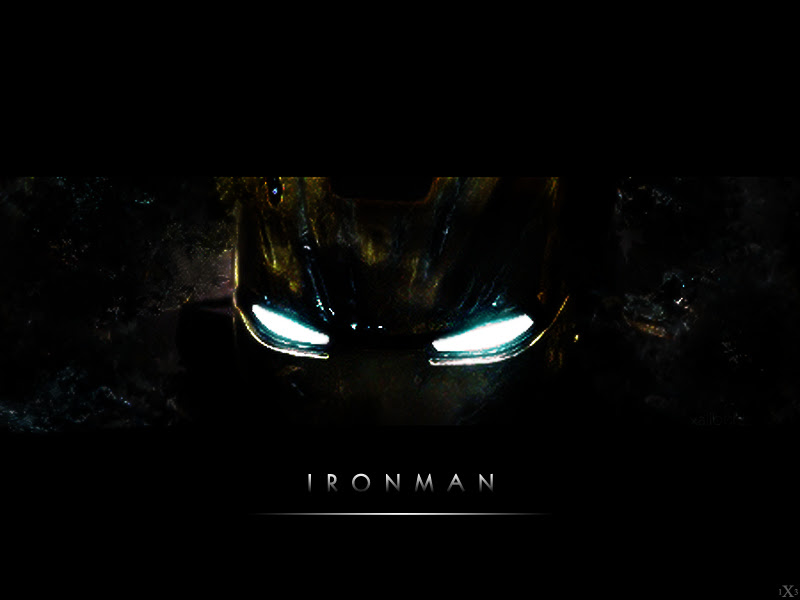 Iron Man Black Wallpaper Hd