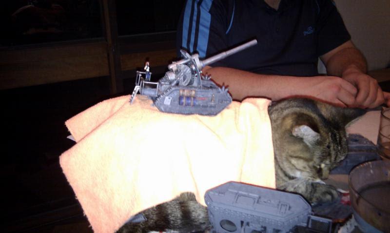 Basilisk, Cat, Imperial Guard, Warhammer 40,000