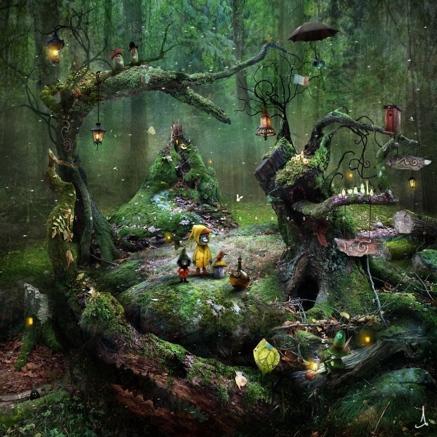 Alexander Jansson illustration fairytale19