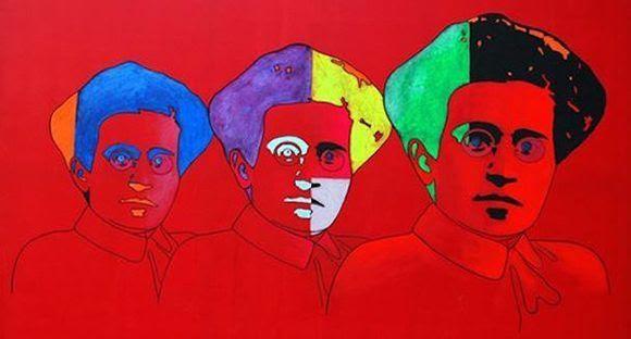 """""""Omaggio a Gramsci"""" (2011), de Gabriele Cancedda."""