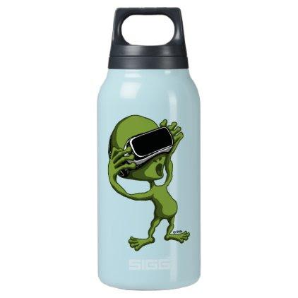 VR Alien Insulated Water Bottle