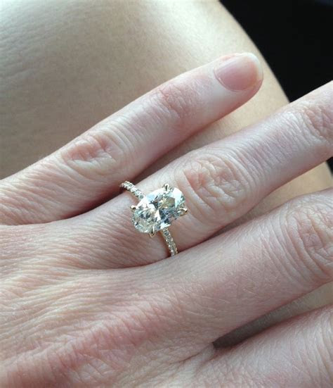1000  images about Rings on Pinterest   Rose gold, 2 carat