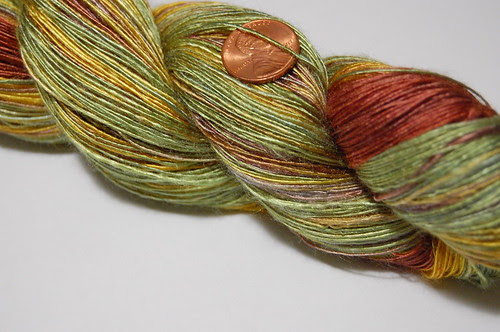 """""""Sunflowers"""" laceweight bamboo singles"""