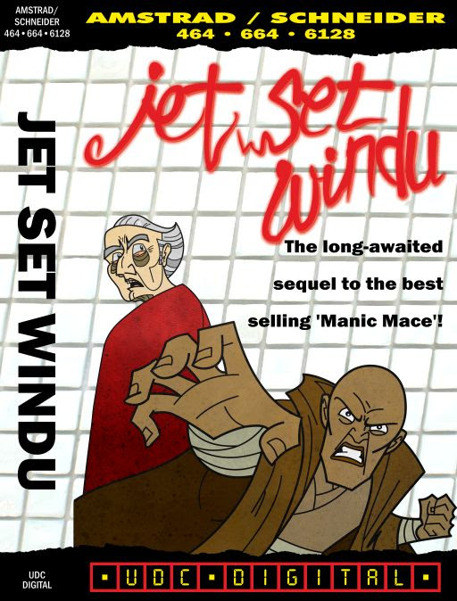 Jet Set Windu cover for the Amstrad CPC464