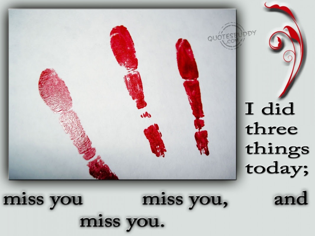 Missing You Quote Picture Quote 1