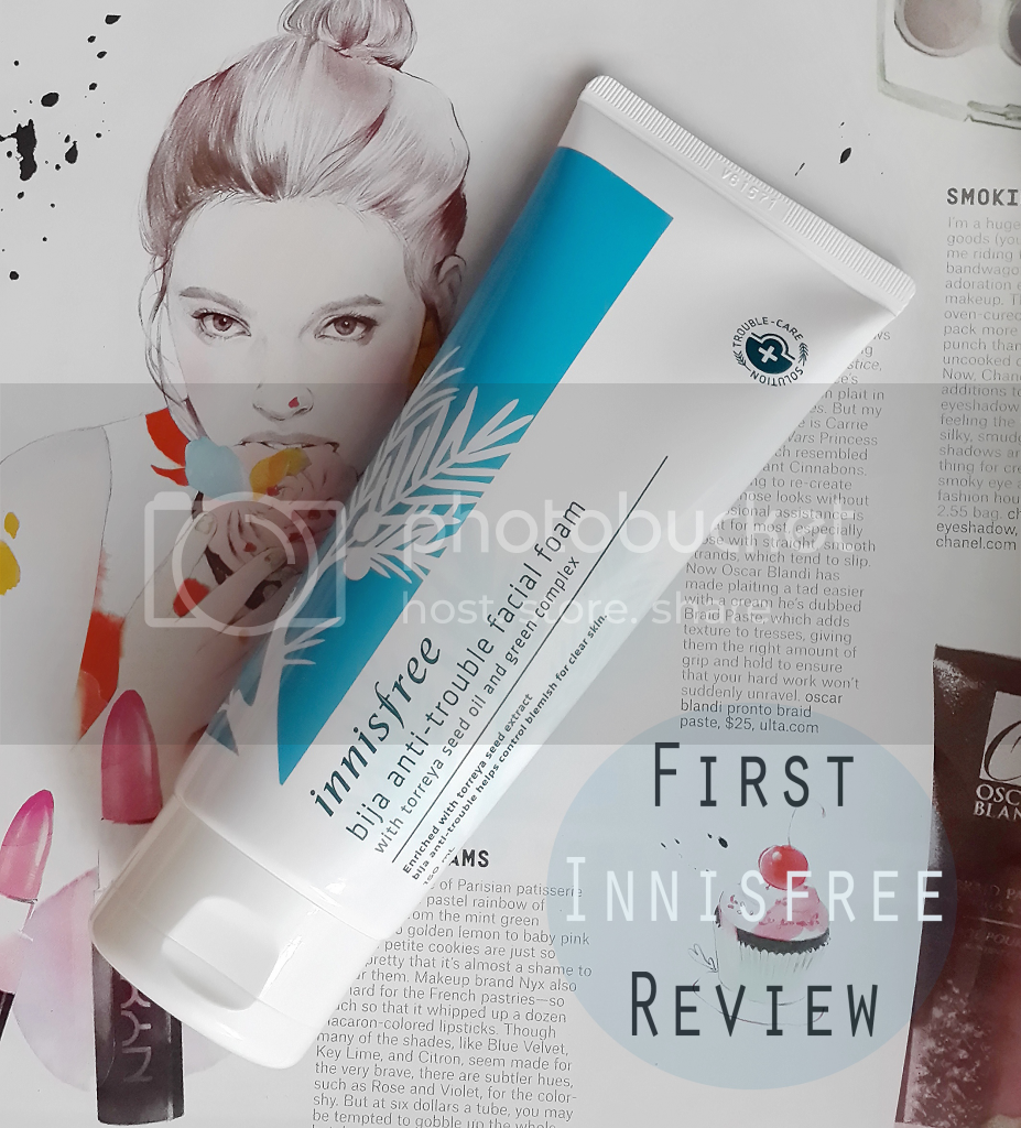 Innisfree Bija Anti-Trouble Facial Foam review