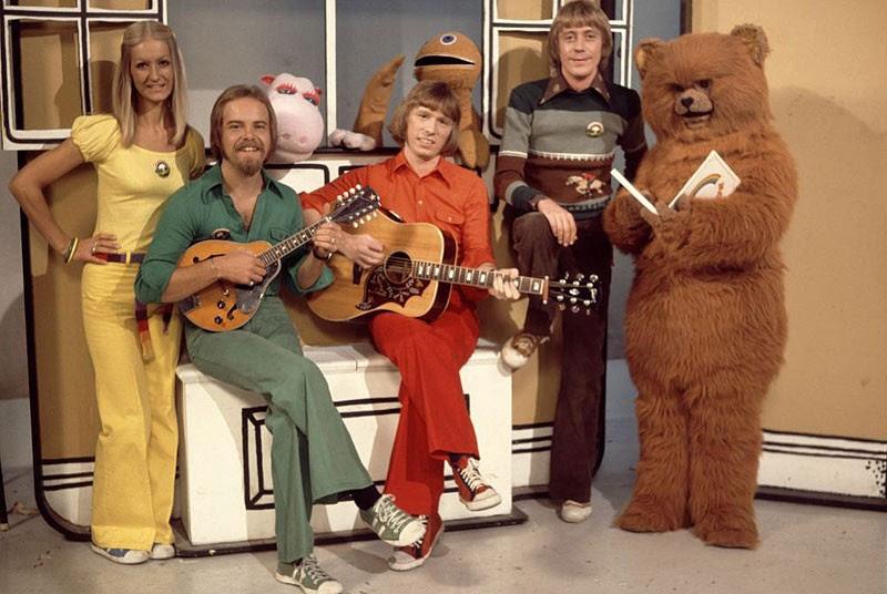 Rainbow cast c. 1974