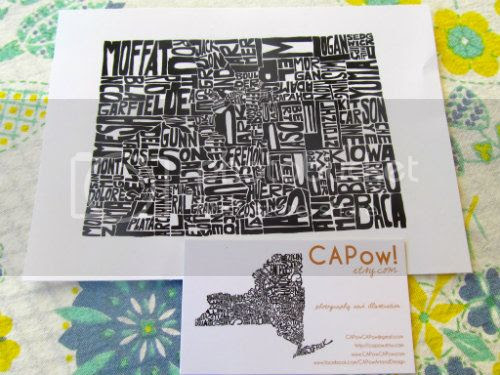 Capow Colorado State Print