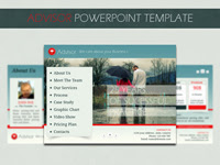 Advisor PowerPoint Template - GraphicRiver Item for Sale