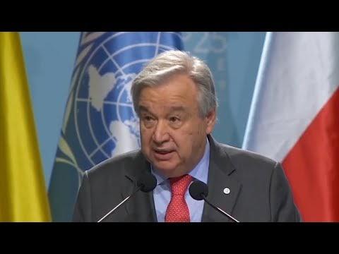 COP 25: Guterres pede transformação da economia, finanças, comércio e indústria para ação climática