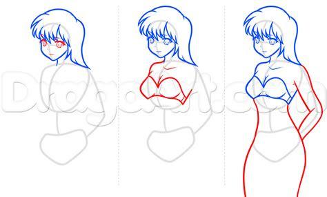 draw anime body figures step  step anime