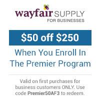 Wayfair Supply 200 Dollar Premier Program