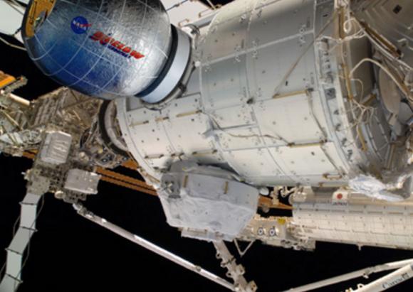 Módulo hinchable BEAM de Bigelow (NASA).