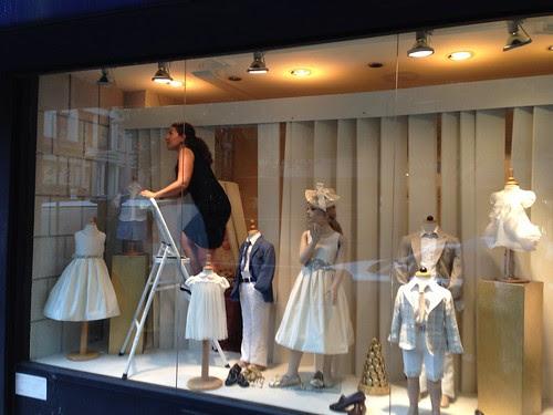 Upper East Side children's clothing shop