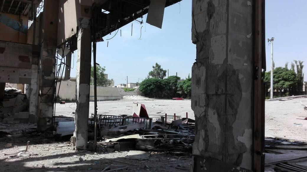 [Photos] L'attaque de missiles israéliens présumée anéantit une petite ville dans la région d'Alep (Al Masdar News)