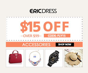 Ericdress TOPS Up to 90% off Sitewide & Extra 10% off over $49 Code:fest10, Shop Now!