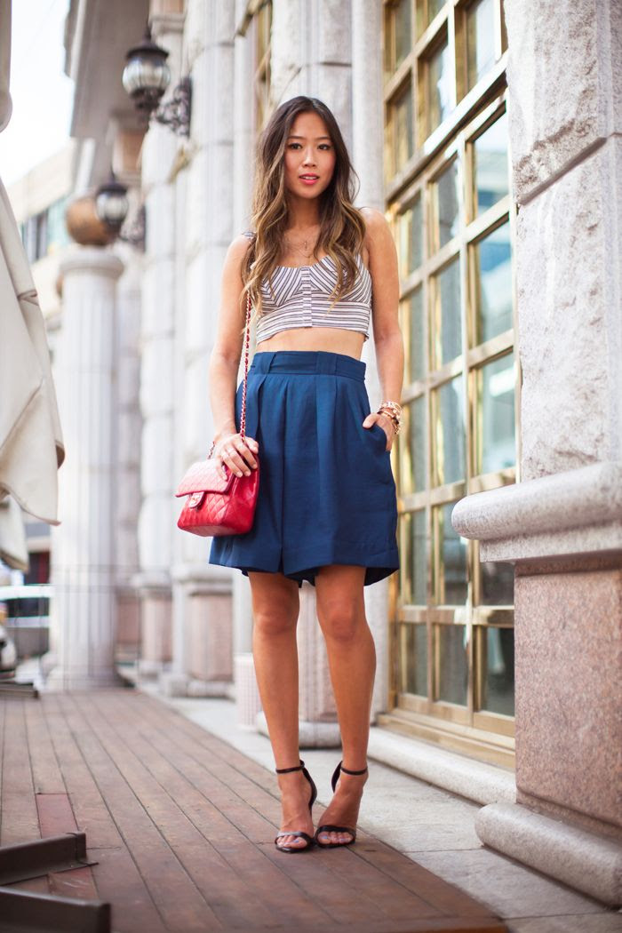 20 cute bermuda short outfits for girls for chic look