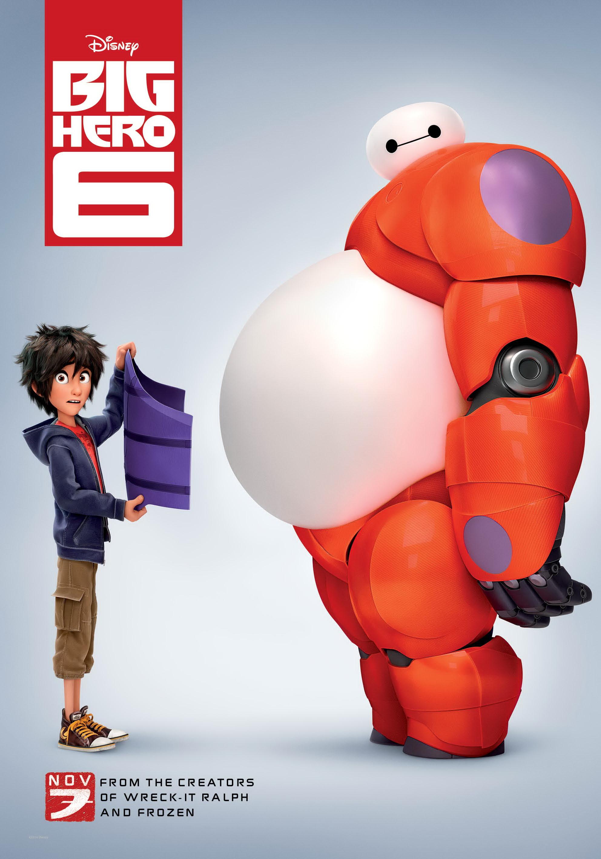 póster de la película Big Hero 6