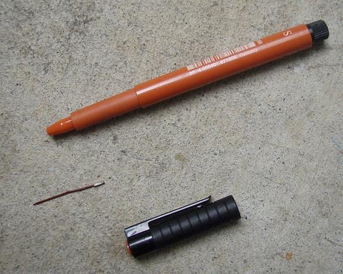 Fixing Faber Castell Pitt Artist Pens II