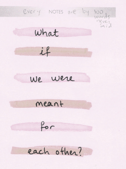 Love Quote Romance Heart Love Quotes What If Meant To Be I