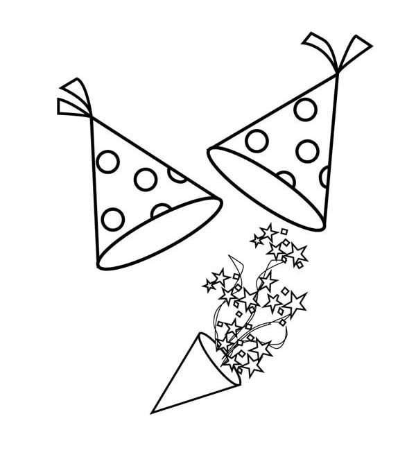 Birthday Hat Drawing at GetDrawings | Free download