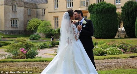Peter Andre celebrates first wedding anniversary with wife