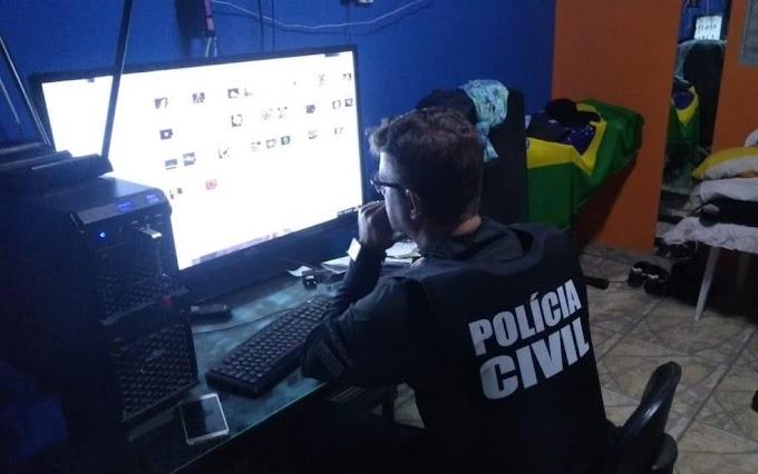 Operação contra pedofilia tem 5 mandados e prende bombeiro aposentado