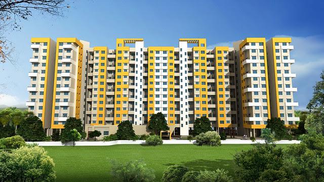 View of 12 Story 4 Towers in Vastushodh's UrbanGram - How is Vastushodh's UrbanGram at Kondhawe Dhawade, near Warje, in Pune 411 023?