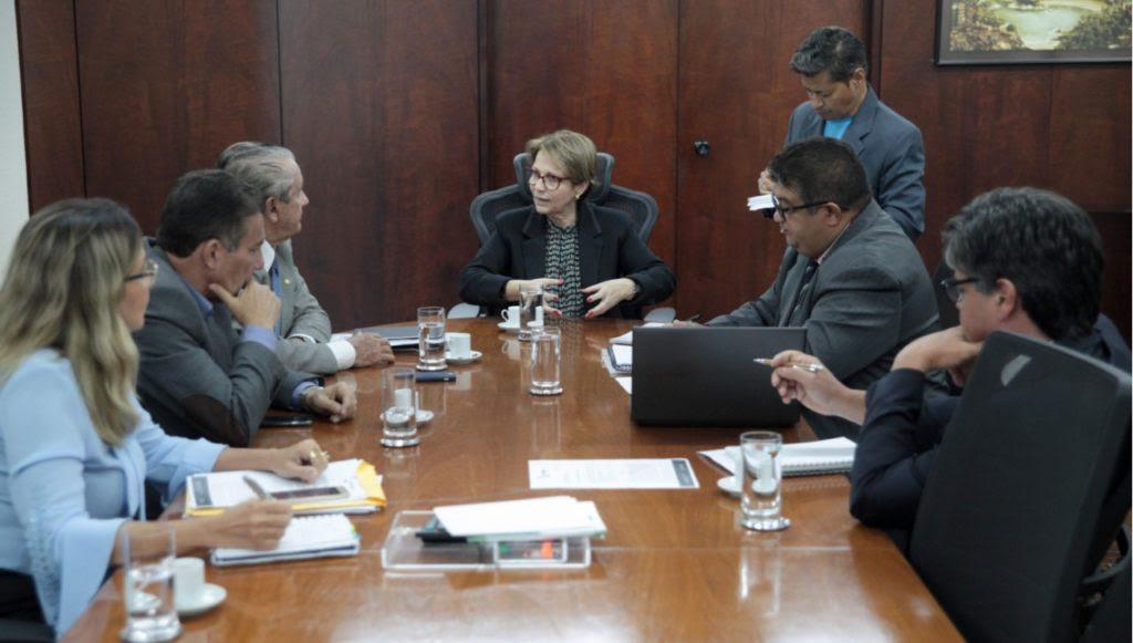Zé Reinaldo e Tema pedem à nova ministra ações estratégicas para desenvolver a agricultura familiar no Maranhão