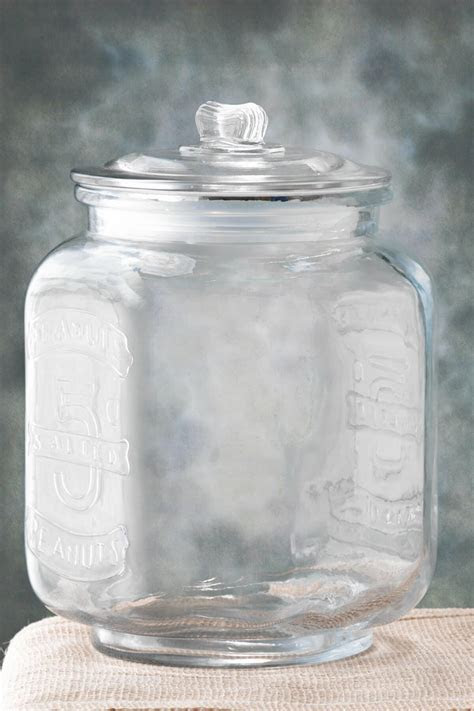 Glass Cookie Jar 8.25 x 12in