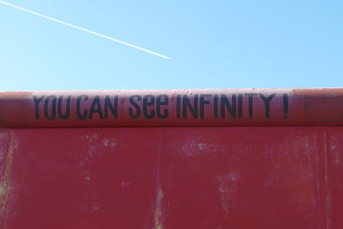 """Berlin Wall """"You can see infinity"""""""